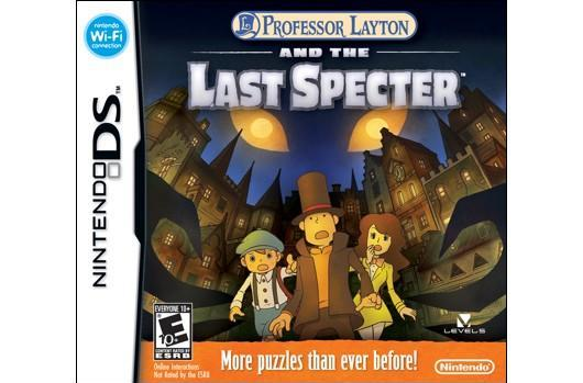 Catch up with Professor Layton before the Last Specter arrives