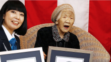 Japan's Kane Tanaka is now the world's oldest living person at age 116