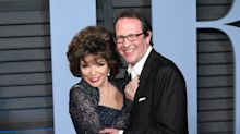 Dame Joan Collins 'lucky to be alive' following fire at her London flat