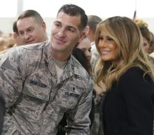 Melania Trump makes first lady history with ride in Osprey