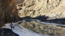 Chadar trek- 世界最佳十大健行探險路線 Zanskar冰川健行