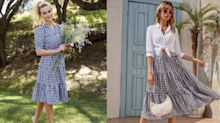 Gingham is trending for spring 2021, and we're loving these 11 gorgeous styles for women