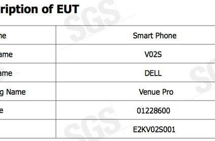 Dell Venue Pro gets FCC certification -- with AT&T 3G
