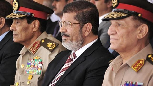 Egypt's President removes top military officers