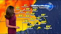 WBZ AccuWeather Midday Forecast For May 26