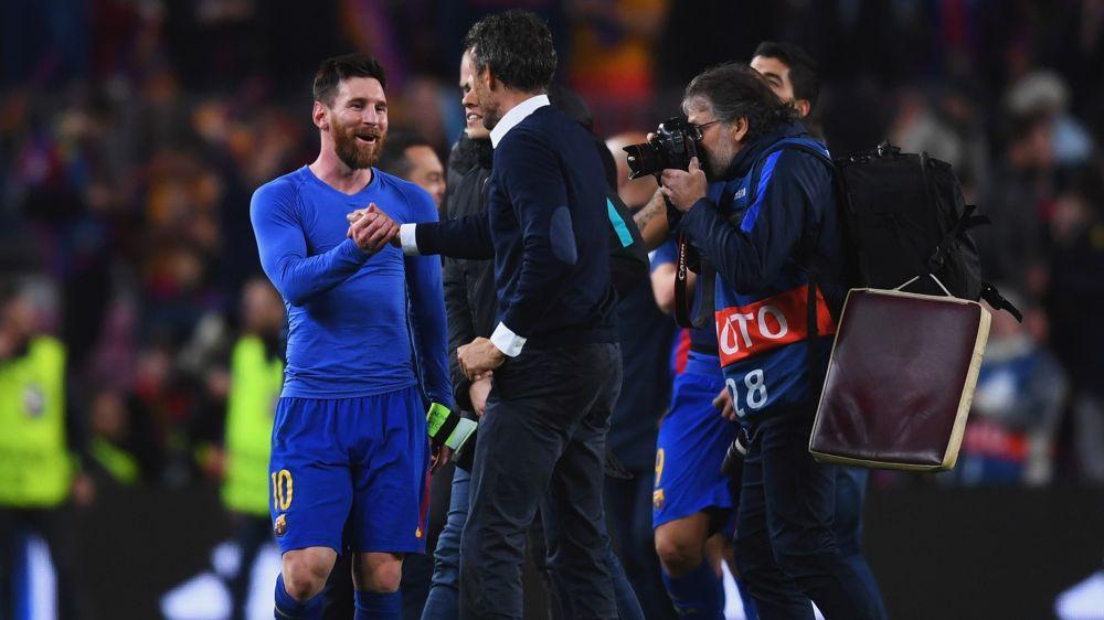 Luis Enrique erneuert Wunsch nach Messis Karriereende in Barcelona