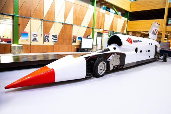 Bloodhound LSR Project