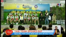 Thai soccer team speaks out about their ordeal