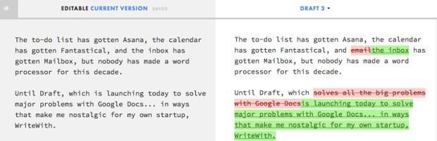 Draft cloud editor saves writing in stages, imports from just about anywhere