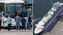 Two Australian cruise ship evacuees diagnosed with coronavirus
