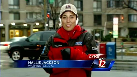 Hallie Jackson sends WXII 12 morning team some of the sweet life