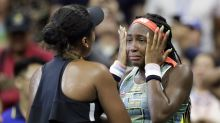 U.S. Open: Coco Gauff and Naomi Osaka brought to tears