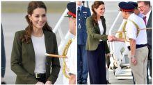 Kate Middleton wears Meghan's favourite fashion label