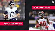 Week 2 FanDuel Picks: NFL DFS lineup advice for daily fantasy football GPP tournaments