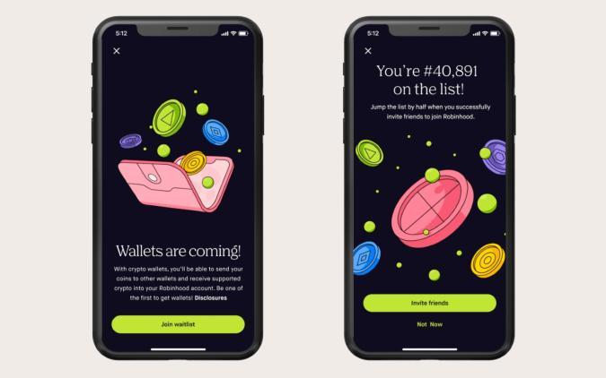 Robinhood crypto wallet