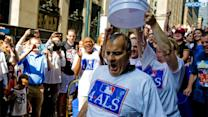Manfred, Torre Take Ice Bucket Challenge For ALS