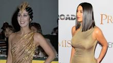 Proof Kim Kardashian West Is Stealing Cher's Style
