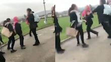 15-year-old Syrian refugee and sister bullied and assaulted by classmates in horrifying videos