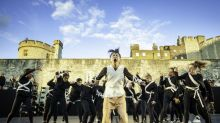 East Wall, Tower of London, London, review: Hofesh Shechter's large-scale dance show storms the Tower