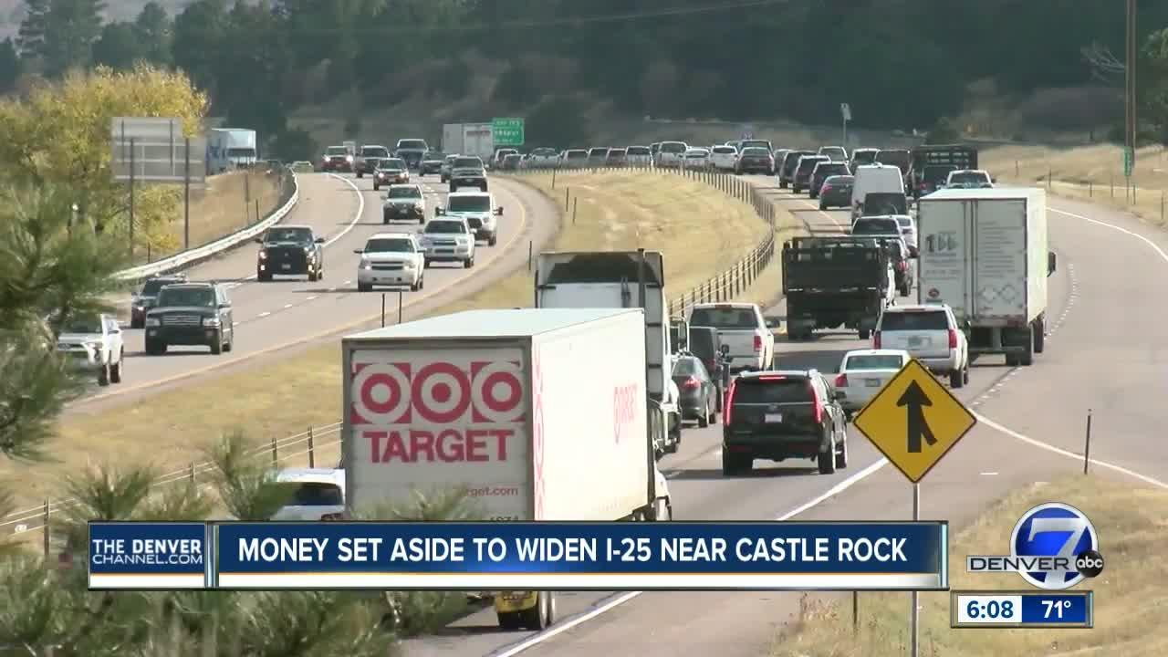 Colorado officials back plans to fund interstate widening