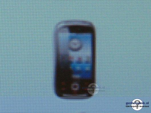 Samsung's first Android handset revealed?