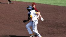 Oklahoma State Blasts Mountaineers to Even Series