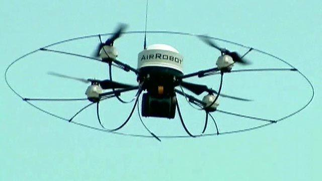 Debate over use of drones in American airspace