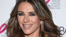 Elizabeth Hurley, 52, skips the bikini and just wears a revealing beach cover-up