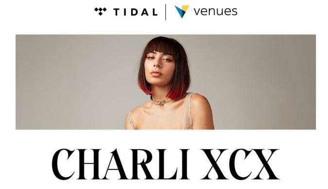 Charli XCX Tidal and Oculus Venues concert