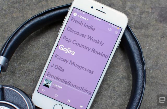 Spotify Stations radio app now works with CarPlay