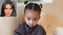 Kim Kardashian Says Chicago, 2, Had to Get 'Stitches' After She 'Fell Out of Her High Chair'