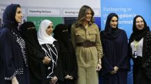 Did Melania Trump Break the Rules by Showing Her Legs in Saudi Arabia?