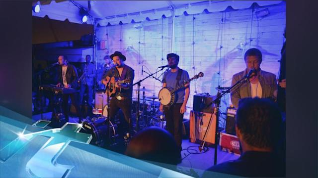 Soho House Toasts 10 Years With Pool Party, Mumford & Sons