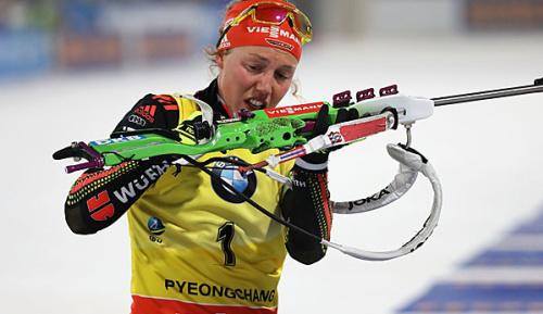 """Biathlon: """"Saublöder Fehler"""": Dahlmeier vergibt Kristallkugel im Sprint"""