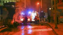 Suspected car bomb wounds around 20 outside Istanbul soccer stadium