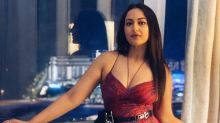 Sonakshi Sinha's Easy Breezy Red Printed Pretty Dress Is Perfect For Daytime Parties