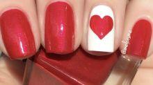 Las manicuras más originales para San Valentín