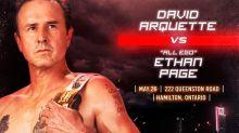 David Arquette quiere que lo tomemos en serio como luchador profesional