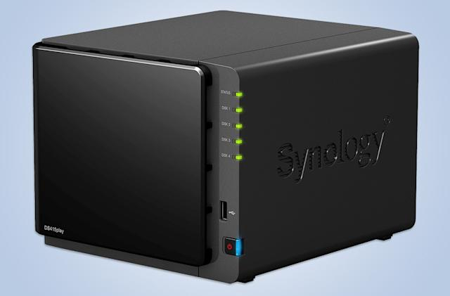 Engadget giveaway: win a Synology DiskStation DS415play!