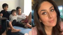 Kareena Kapoor Khan Shares An UNSEEN Pic Of Son Taimur Ali Khan And Friends; Tim Looks Uber Cool As He Chills With His Buddies