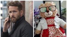 Ryan Reynolds oferece R$ 25 mil a quem devolver ursinho roubado