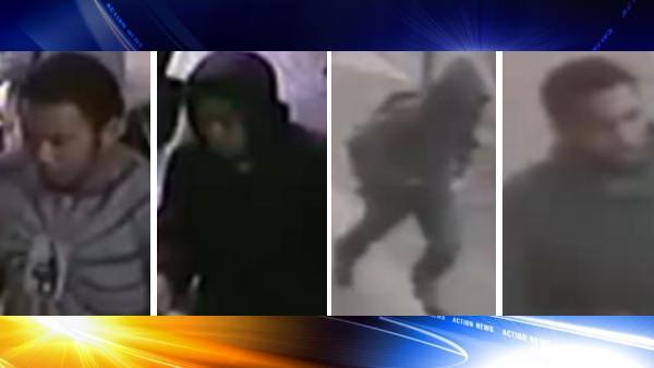 4 sought in coordinated South Philadelphia pharmacy robbery
