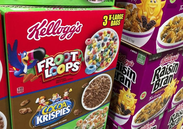 Cereal is selling well as more consumers work from home due to the COVID-19 pandemic (AFP Photo/SAUL LOEB)