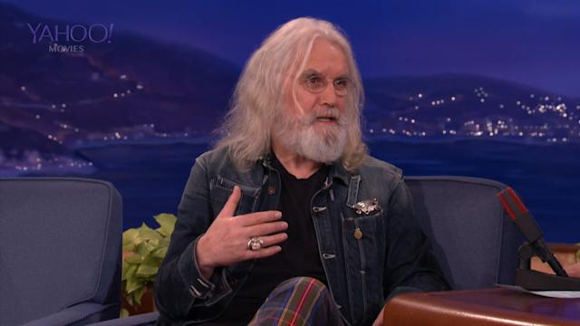 Billy Connolly opens up about Parkinson's disease
