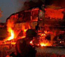 Israel faces intense rocket fire from Gaza as Hamas retaliates for botched commando raid