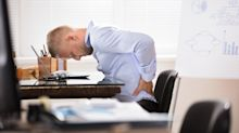 Is sitting down at work all day slowly killing us?