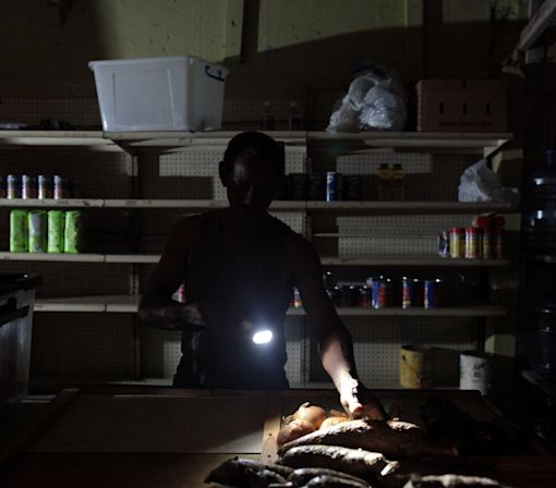 Most Puerto Ricans face a second night without electricity