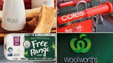 Complaint sparks debate over Woolworths, Coles, Aldi eggs