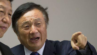 Huawei CEO warns of 'the US falling behind'