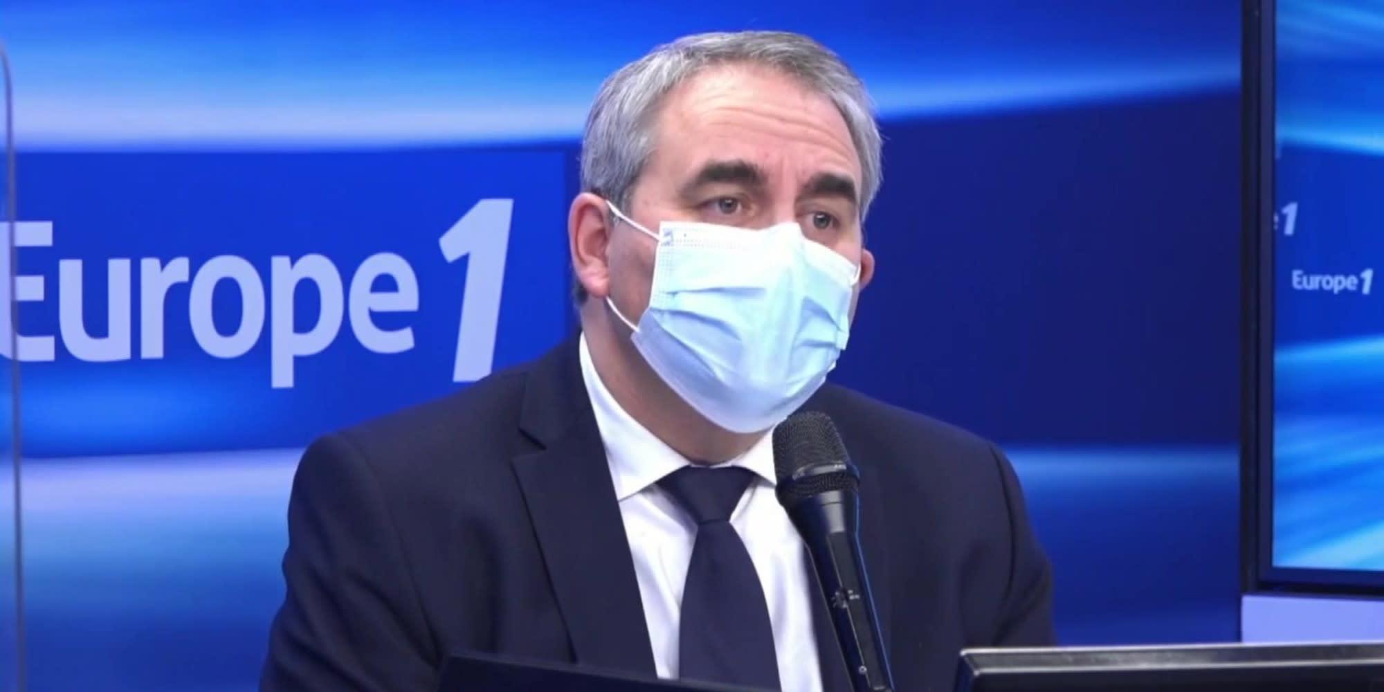 Le président des Hauts-de-France Xavier Bertrand est l'invité d'Europe 1 mardi à 8h15